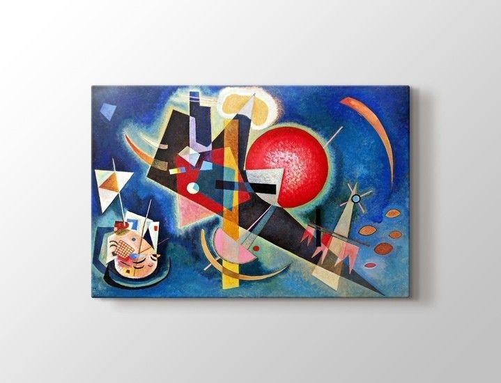 Wassily Kandinsky - Im Blau Tablo