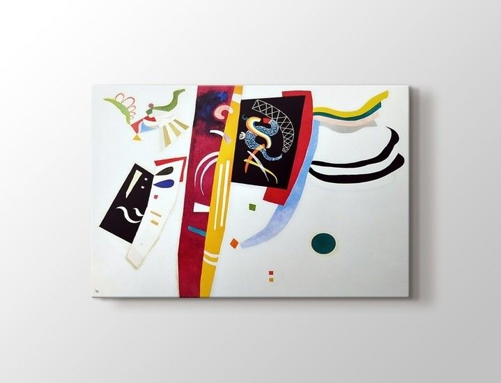 Wassily Kandinsky - Sans Titre Tablo