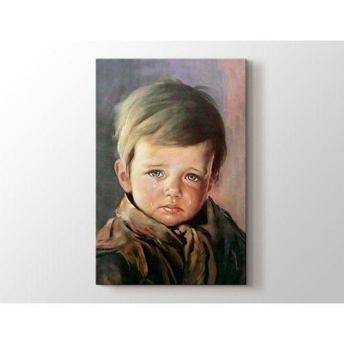 Giovanni Bragolin - Ağlayan Çocuk Poster