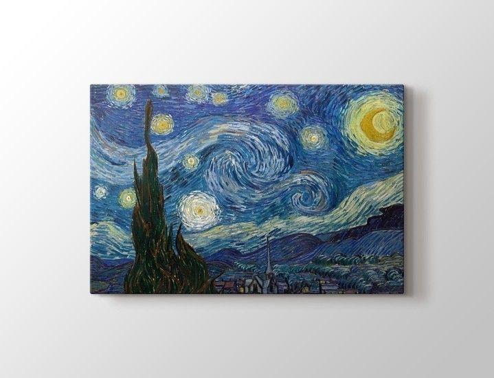 Vincent Van Gogh - Yıldızlı Gece Poster