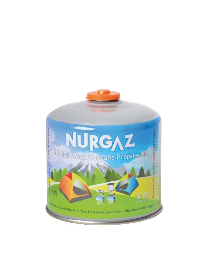 Nurgaz 450 Gr Vidalı Kartuş NG 201-V (Tekli-Üçlü ve Beşli Set)
